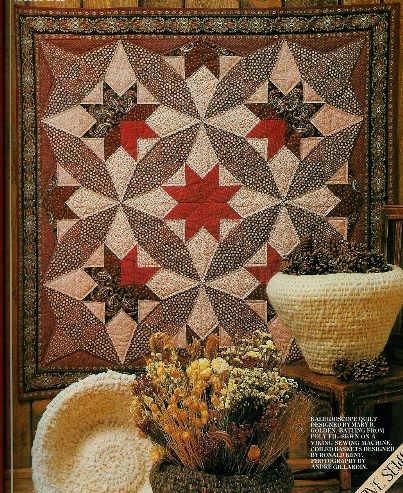 **Kaleidoscope QUILT Pattern Beautiful Knitted/Crochet  Items