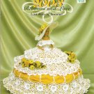 **Annie Potter Crochet 8 -2003 Ribbons & Lace  LAST ROSE OF AUGUST