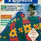 **Knit/Crochet * 19 * WARM & COZY Afghans EASY & FAST