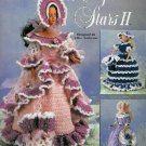 "**Crochet * 3 * Frilly Dresses for 17"" Hollywood Starlett Doll"
