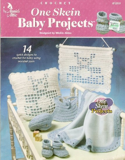 **Crochet * 14 * Annie's Attic One Skein Baby Projects