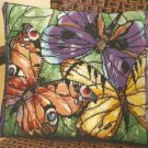 **Needlepoint Kit STAINED GLASS BUTTERFLY BEAUTIES 2006