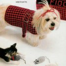 **Crochet Herrschners DOG COAT Ornaments CAPS & Scarfs