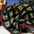 **Crochet Granny STARS Afghan Pattern Ornaments TREE Skirt +