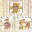 **Cross Stitch BEARATITUDES  * 12 * Designs by GLORIA & PAT