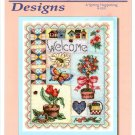 **Cross Stitch BOBBIE G. DESIGNS Spring Happening Collage