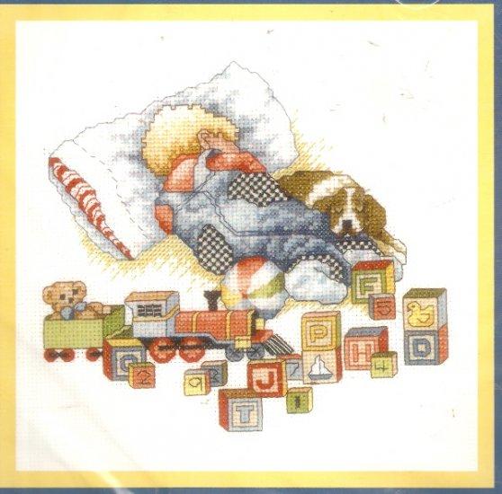 **Cross Stitch Pattern BOBBIE G. DESIGNS   SLEEP TIGHT