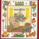 **Cross Stitch Pattern BOBBIE G. DESIGNS -GARDEN WINDOW