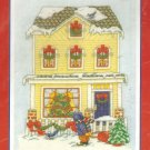 **Cross Stitch Pattern BOBBIE G. DESIGNS HOME FOR CHRISTMAS