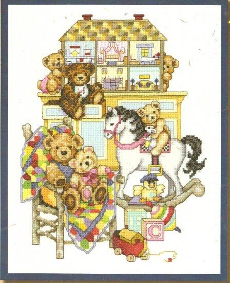 **Cross Stitch Pattern BOBBIE G. DESIGNS The Play Room