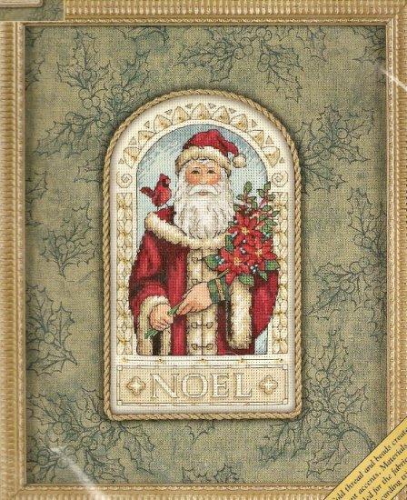 Elegant GOLD NUGGETS Christmas Noel Santa