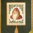 **Gold Nuggets Cross Stitch Kit - SANTA AND HOLLY