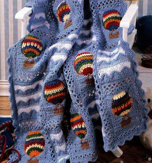 **Crochet Noah's Ark - Hot Air Balloon +48 Patterns