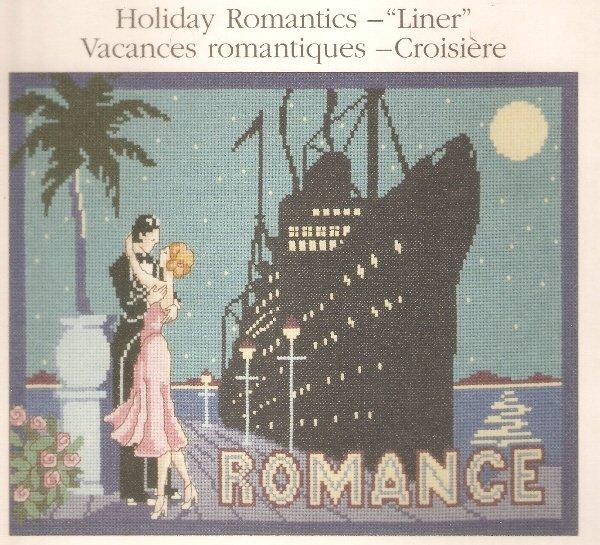 **Cross Stitch HOLIDAY ROMANCE New Unopened Kit SALE $3.99