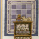 **Cross Stitch KIT Cross My Heart Cat & Quilt COMPANIONS