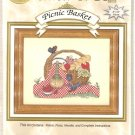 **Cross Stitch Kit CROSS MY HEART Stitch N Go PICNIC BASKET