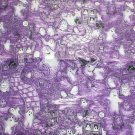 **Glittery Halloween FABRIC 18&quot; X 45&quot; for Pillow Ghosties % Ghoulies