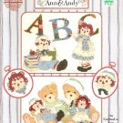 HTF Classic ABC Raggedy Ann and Andy 15 Cross Stitch Patterns By Gloria & Pat