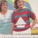 Knit 2 SAILING Pullovers - Anchor and Sailboat Design