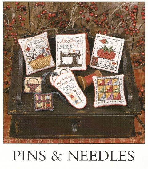Prairie Schooler Cross Stitch PINS AND NEEDLES Number 115  2004