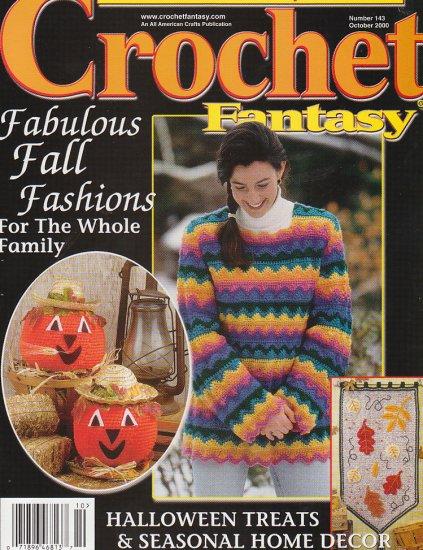 *Crochet Fantasy ALIEN Afghan BIRD Afghan CHEVRON Tunic