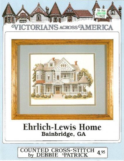 Debbie Patrick Cross Stitch EHRLICH - LEWIS HOME