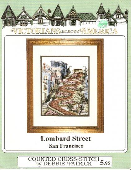 Debbie Patrick Cross Stitch LOMBARD STREET Number 139