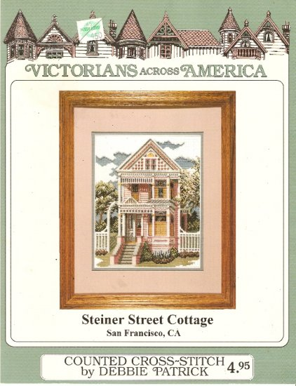 Debbie Patrick Cross Stitch STEINER STREET COTTAGE Number 143