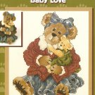 Boyds Bears Cross Stitch  MOMMA McBRUIN AND LUKE - BABY LOVE