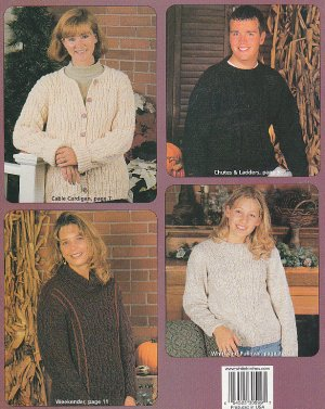 Knitting CREATIVE Cables for MEN and WOMEN Patterns