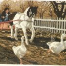 THE PONY CART  Needlepoint KIT 2002 ELSA WILLIAMS