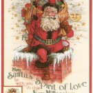 Christmas Cross Stitch Vermillion Giampa MILLENNIUM SANTA