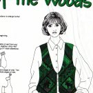 Out of the Woods VEST Fabric to Sew  - VIP DreamSpinners