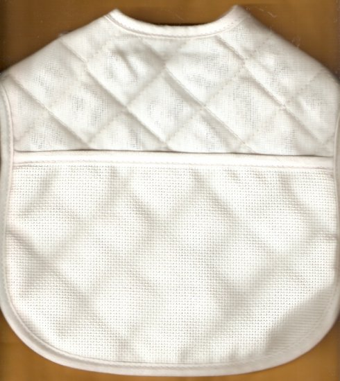 Free Patterns For Quilted Baby Bibs : *Quilted Cross Stitch~ Baby Bib plus 3 extra patterns