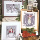 *6 Cross Stitch Pattern SNOW FRIENDS  Penny Lane Stoney Creek