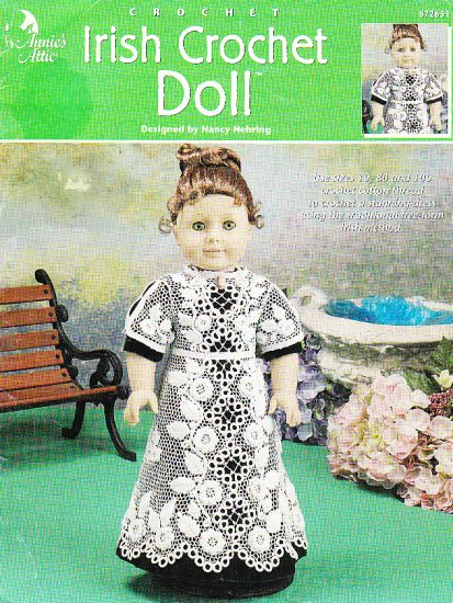 Free Crochet Patterns Annie s Attic : *Annies Attic IRISH Crochet Doll Pattern FREE Form Irish ...