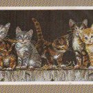 *Cat Cross Stitch Kit   BARDYARD KITTIES Dimensions 2004