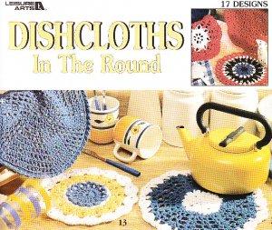 *Crochet 17 Dishcloths In the Round