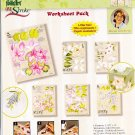 Donna Dewberry 6 Pattern Value Worksheet Pack One Stroke