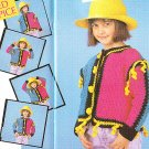 Crochet Dog Coat - Kitten Toy - Pansy Afghan Pattern Quick and Easy Magazine