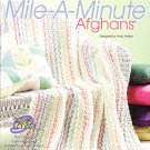 Annie&#39;s Attic Crochet n&#39; Weave Mile-A-Minute Afghans