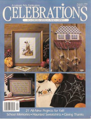 Cross Stitch Magazine ~ LEISURE ARTS CELEBRATIONS