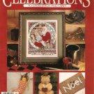 Cross Stitch Magazine ~ LEISURE ARTS CELEBRATIONS