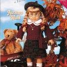 "*Crochet  Vintage American 18"" Doll Pattern - Autumn Walk"
