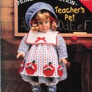"*Crochet  18"" American Doll Pattern - Pioneer Collection - Teacher's Pet"