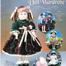 "*CROCHET * 5 * -  Classic 15"" Doll Wardrobe Patterns"