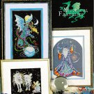 *6 Cross Stitch Patterns Stoney Creek MYTHICAL FANTASIES