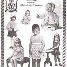 *Elizabeth Hiddleson Pattern Vol # 1-A Babies and Children