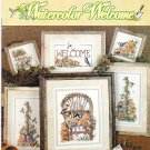 *6 Cross Stitch Patterns Stoney Creek  WATERCOLOR WELCOME
