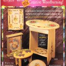 *Instructions for Stamping - Woodburning - Oil-Color Pencil